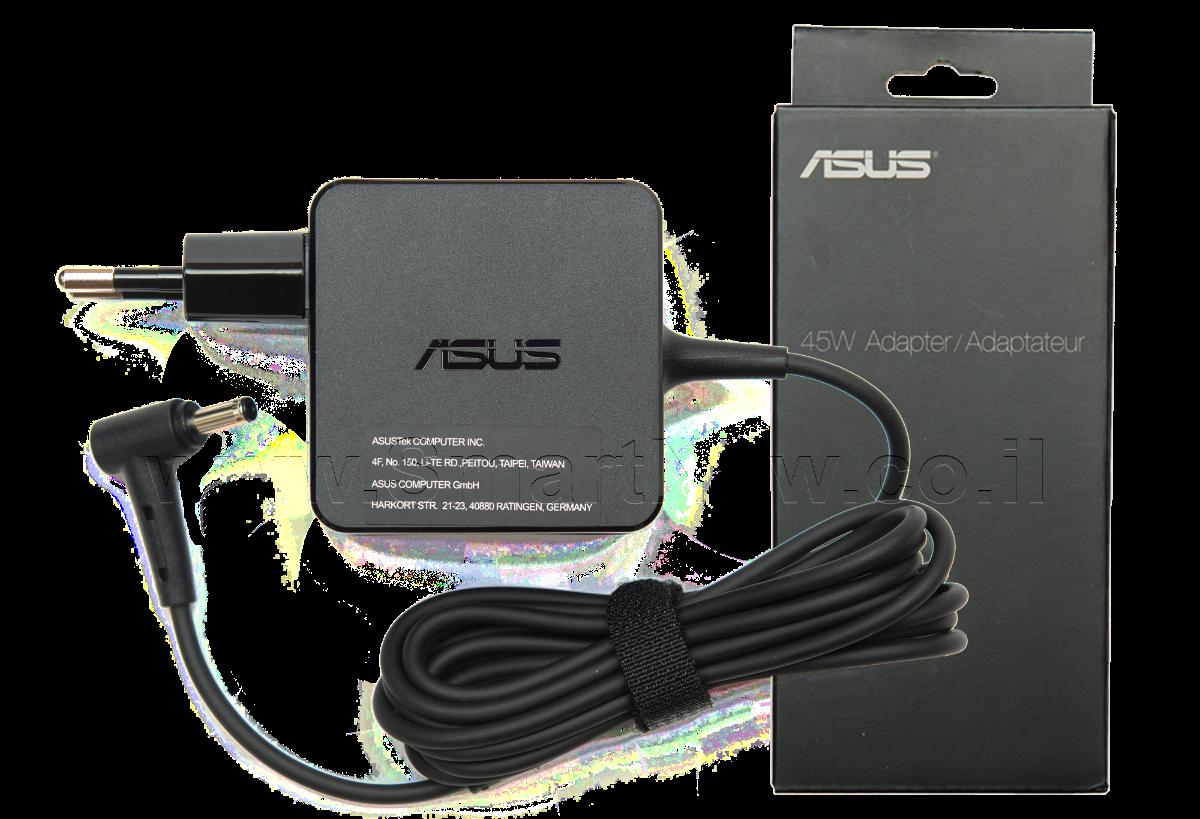 מטען למחשב נייד אסוס Asus 19V-2.37A 4.0*1.35 45W