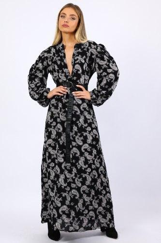 שמלת לילוש מנומר/פייסלי