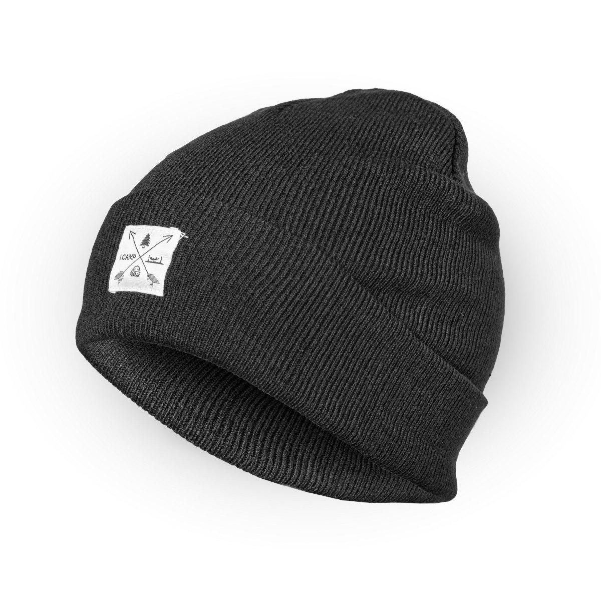 כובע חורף I CAMP - שחור