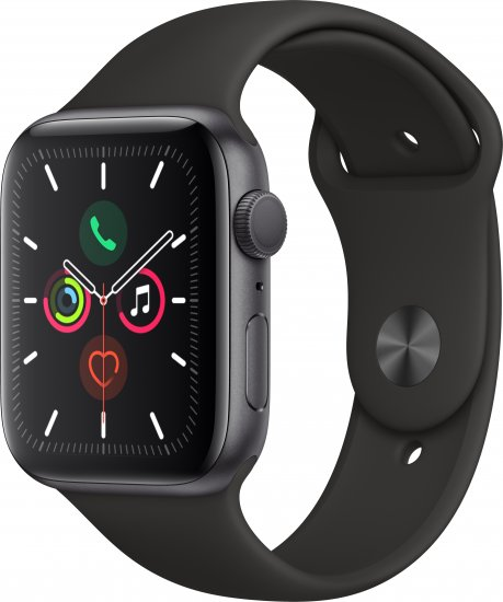 שעון חכם Apple Watch Series 5 44mm Aluminum Case Sport band GPS אפל