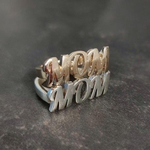טבעת MOM תלת מימד