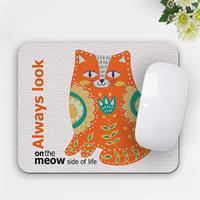 פד מעוצב לעכבר | משטח מעוצב לעכבר מחשב | מתנה לאוהבי חתולים