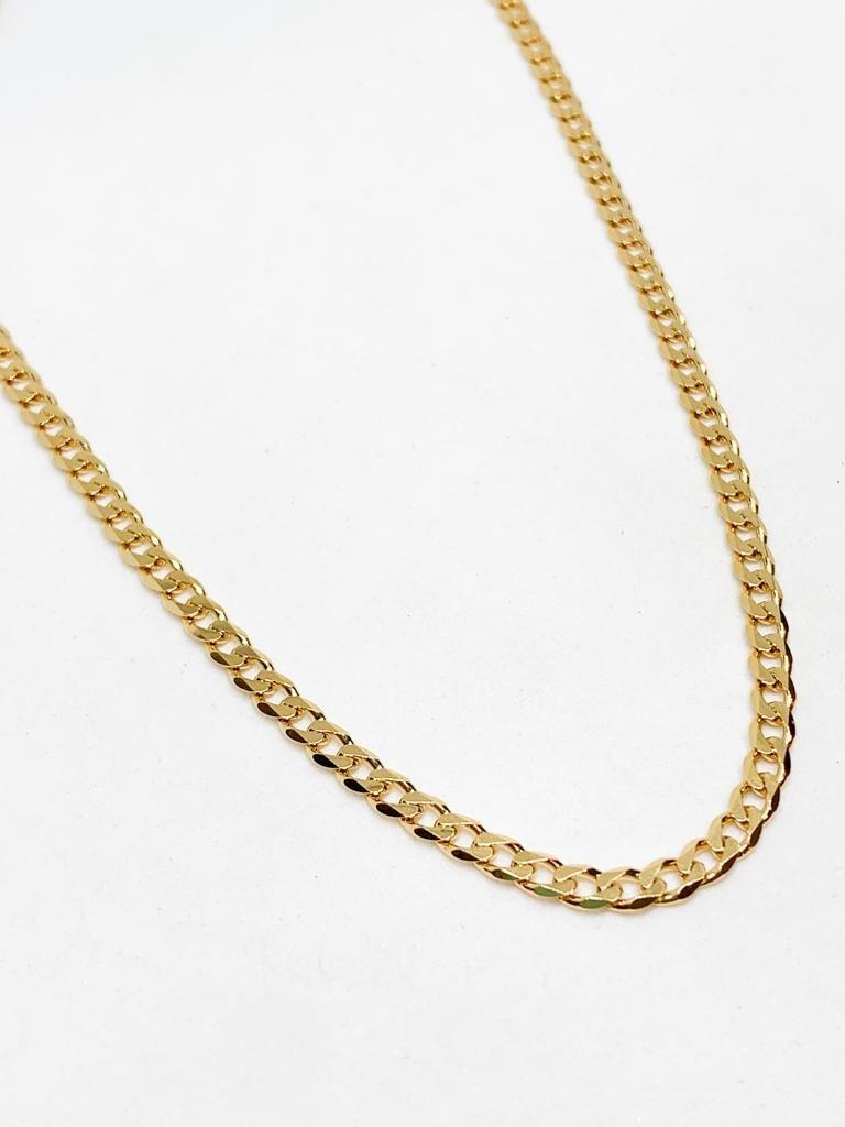 שרשרת גורמט פנצ'ר זהב קצרה M