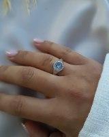 טבעת כוכב זרקון