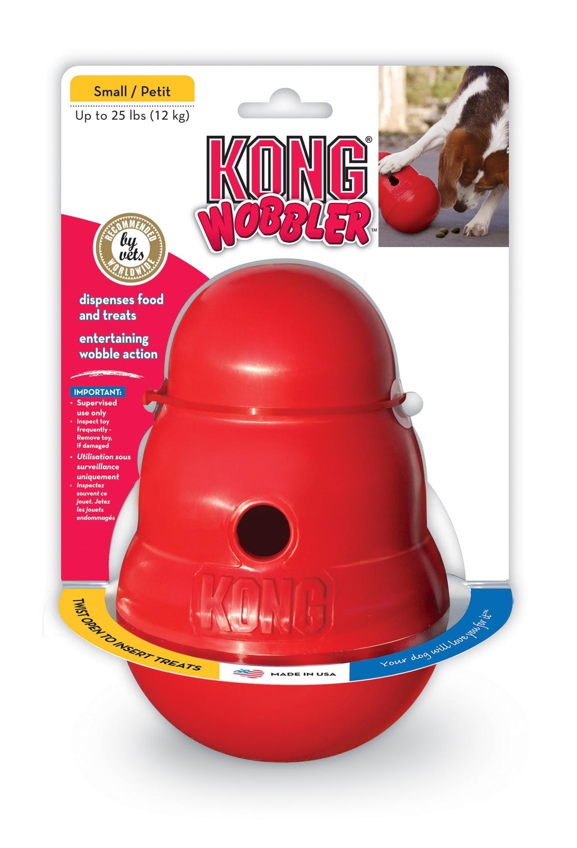 קונג וובלר S למשחק תעסוקה והאכלה לכלב