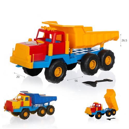 """משאית עפר 56 ס""""מ עם כף מגרפה"""