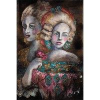 תמונות על קנבס בזוגות - Renaissance women