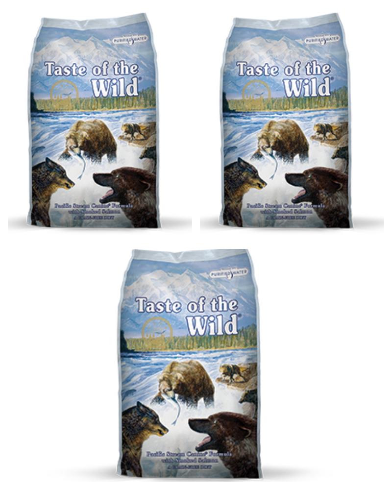 """3 שקים Taste Of The Wild דגים 13 ק""""ג"""