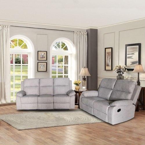 ספה 3 + 2 מושבים סיאסטה בד אפור