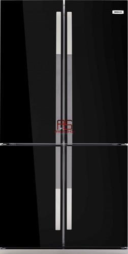 מקרר 4 דלתות Beko GNE104611X זכוכית במגוון צבעים