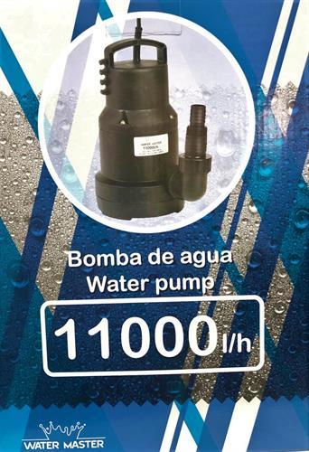משאבת השקיה טבולה במים מאסטר (11000 ליטר / שעה)