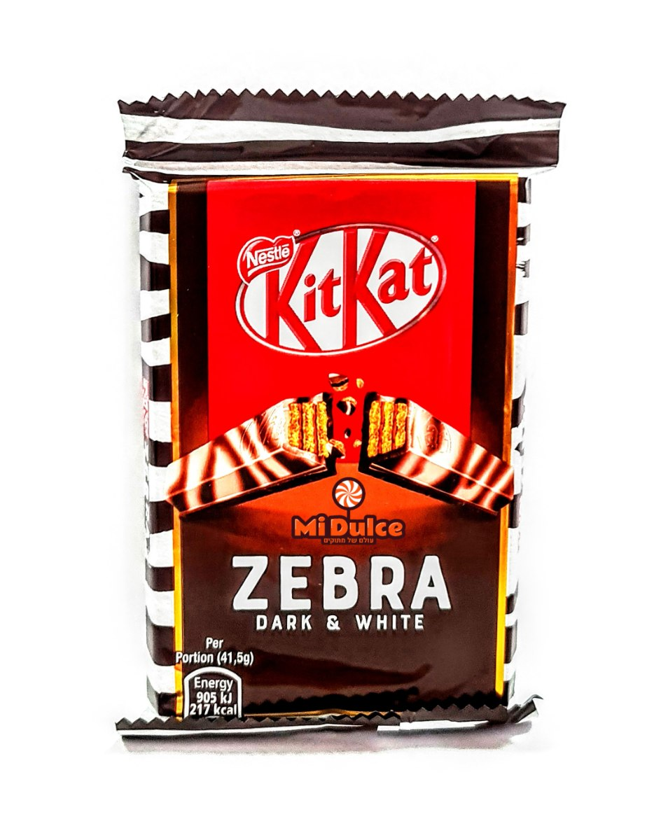 Kit Kat Zebra