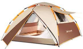אוהל בן רגע ל 3 אנשים. 3 ב-1 של OTENTIK