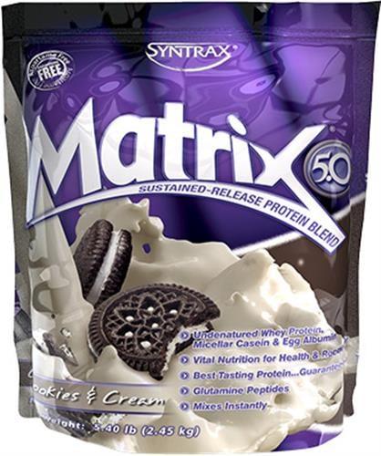 """אבקת חלבון סיינטרקס מטריקס 2.3 ק""""ג Syntrax Matrix M5"""