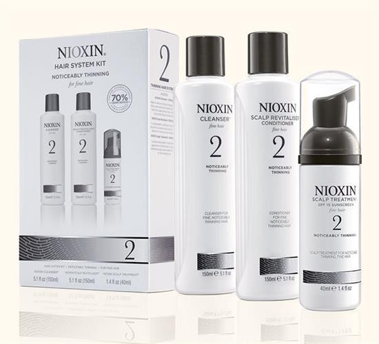 Nioxin System Kit 2 מארז טיפול לשיער