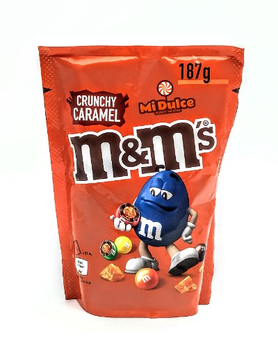 M&M קראנצ'י קרמל,מארז מוגדל!