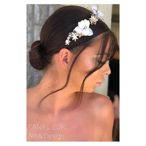 קשת אפרת- פרחים לבנים