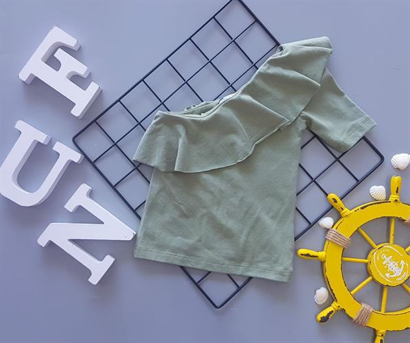 חולצת כתף מלמלה דגם 9376/4
