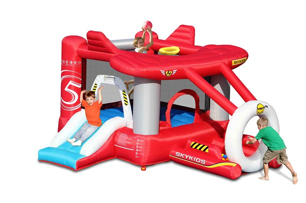 מתקן קפיצה המטוס  הפי הופ - 9237 -   Airplane Bouncer Happy Hop