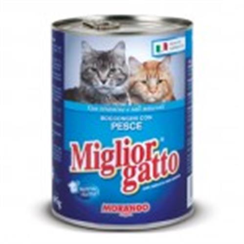 שימור לחתול מיגליאור 405 גרם בטעם דג