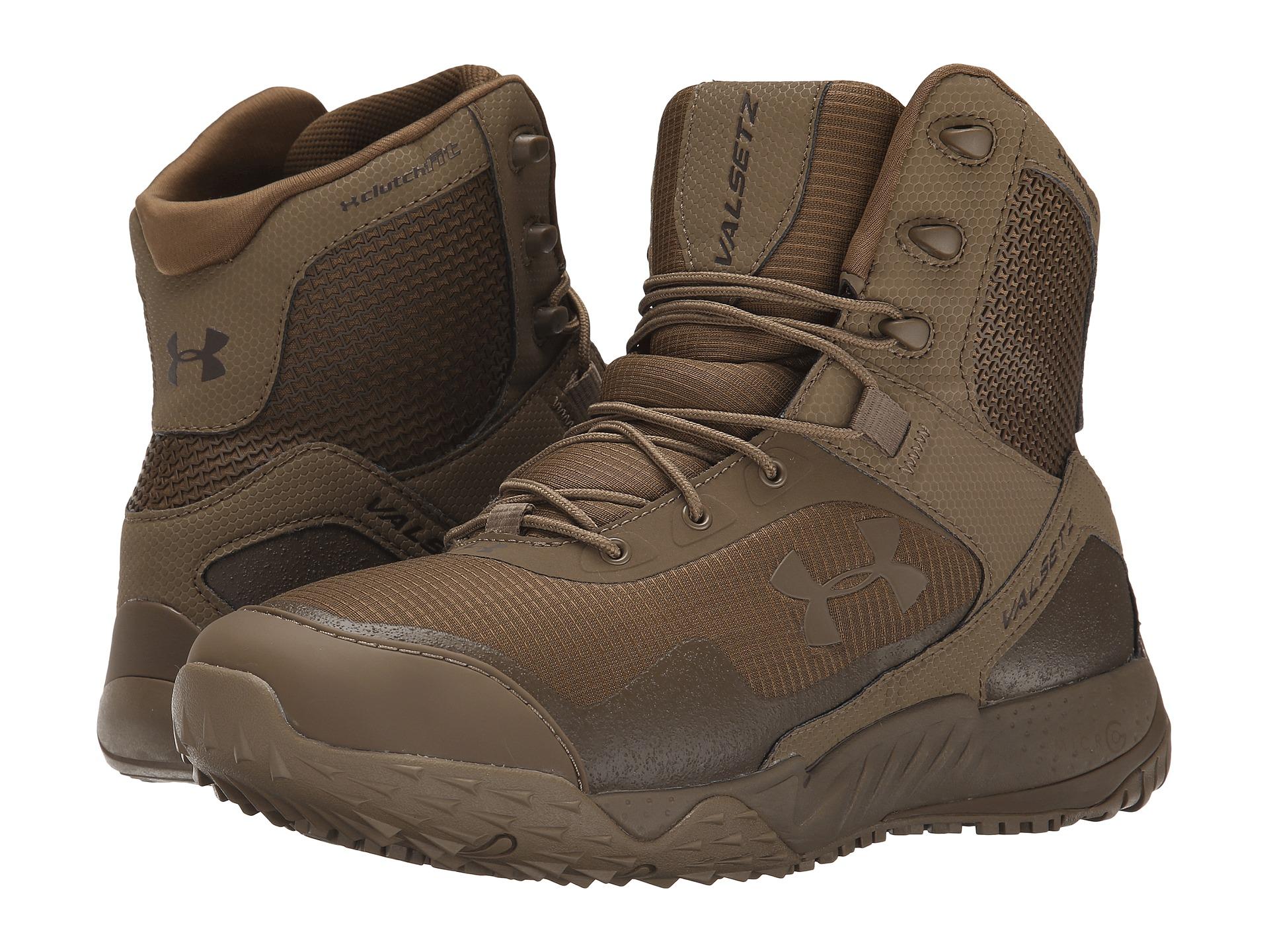 נעליים טקטיות אנדר ארמור UA Valsetz RTS חום גבוה