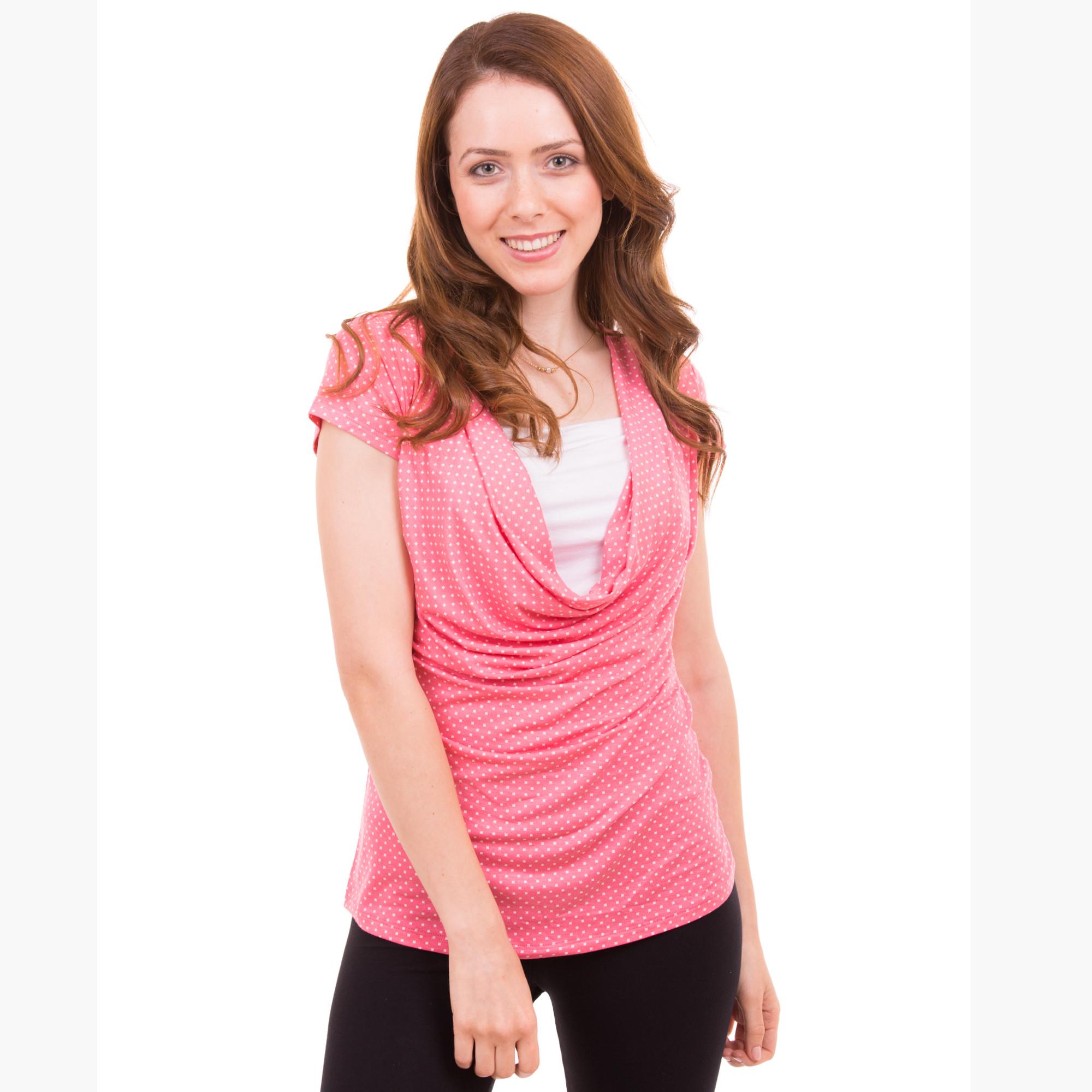 Classic Pink Summer Nursing Top