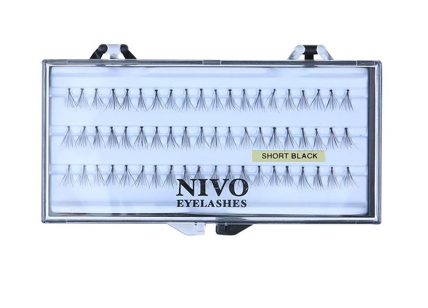NIVO - ריסים בודדים שורט - Short