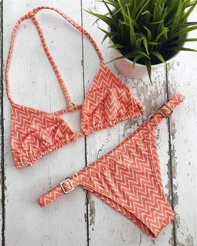 בגד ים מליבו - טופ אמילי / תחתון מתכוונן