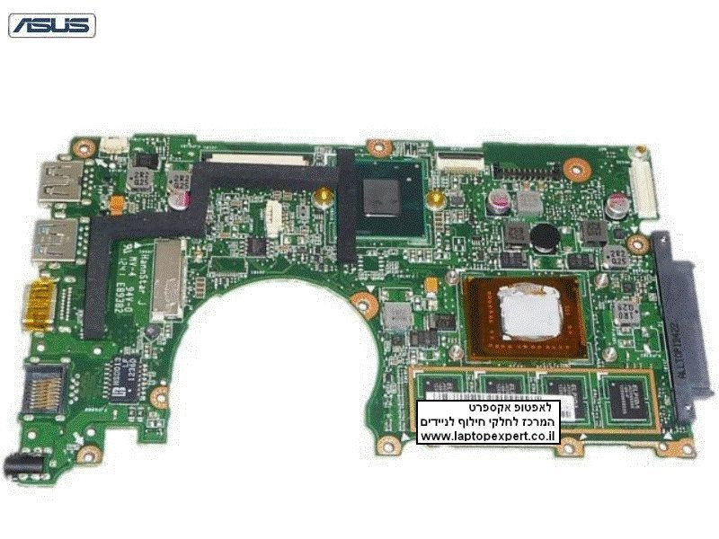 "לוח למחשב נייד אסוס ASUS X202E Q200E Q200E-BHI3T45 11.6"" INTEL MOTHERBOARD 60-NFQMB1700-B05 ULV987 BGA"