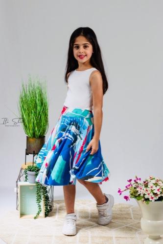סט חולצה וחצאית אילור