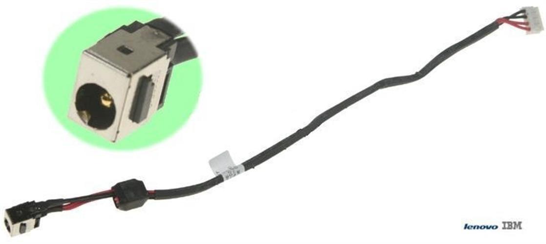 שקע טעינה למחשב נייד Lenovo G550 , B550 Dc jack with cable