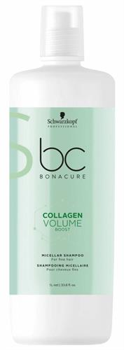 שמפו BC COLLAGEN VOLUME BOOST לשיער דק- SCHWARZKOPF (ליטר)