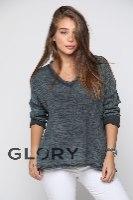 חולצת V פרנזים GLORY