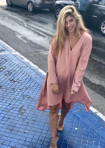 שמלת סלינה ורוד