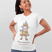חולצת טי - If You Can Dream It