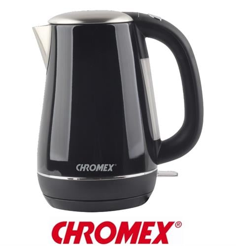 CHROMEX קומקום נירוסטה דגם CH-555B שחור