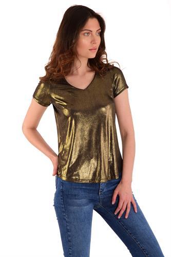 חולצה ליבי זהב