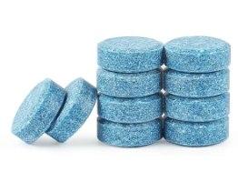 טבליות להכנת מים כחולים