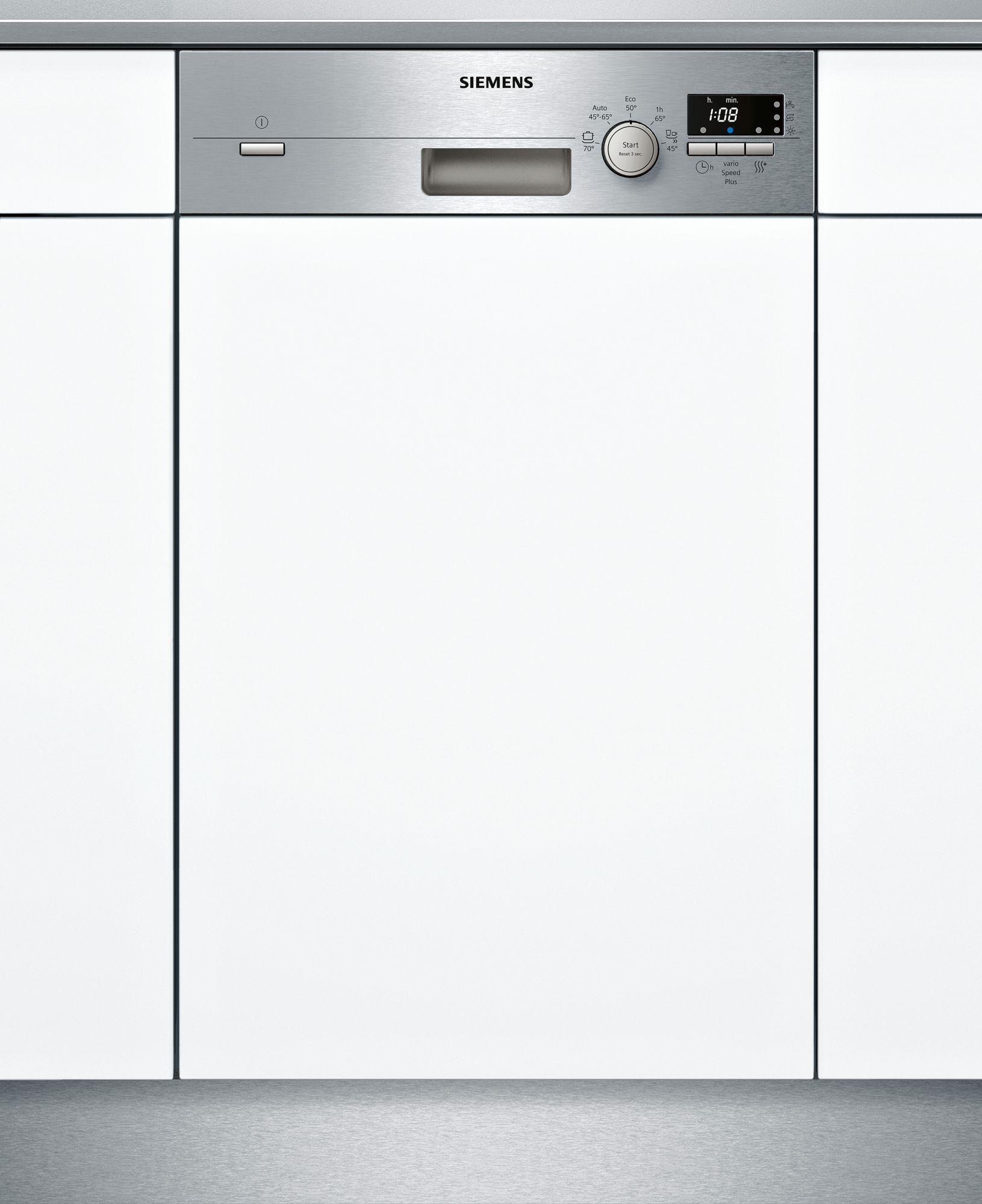 מדיח כלים צר חצי אינטגרלי Siemens SR515S03CE תוצרת גרמניה