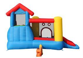 מתקן קפיצה בית 7 התחנות הפי הופ - 9019 -   7in1 Play House Happy Hop
