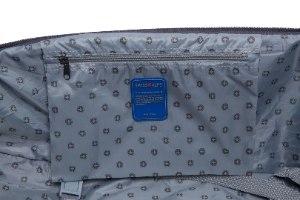 סט 3 מזוודות SWISS ALPS בד קלות וסופר איכותיות - צבע אפור
