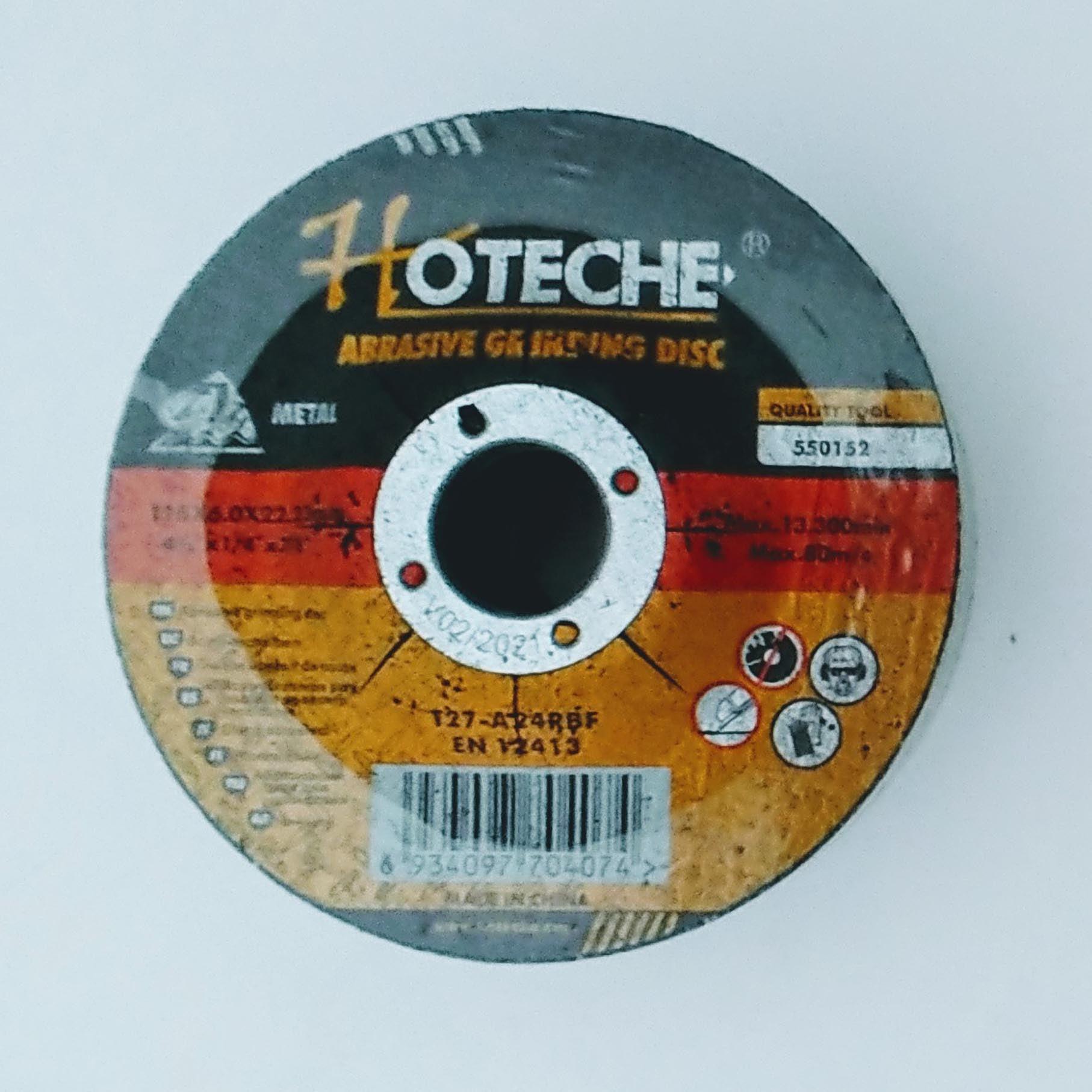 מארז 5 דיסקים לשיוף ברזל 125 מ''מ-5'' מבית חברת HOTECHE