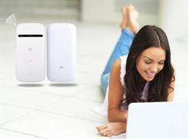 נתב / ראוטר סלולרי 4G LTE לחיבור WIFI  עד 10 משתמשים ZTE MF90C1