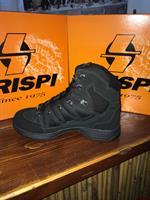 נעליים טקטיות נעלי  הרים קריספי דגם מגב שחור חצי   -  CRISPI STEALTH PLUS GTX VIBRAM BLACK CTU