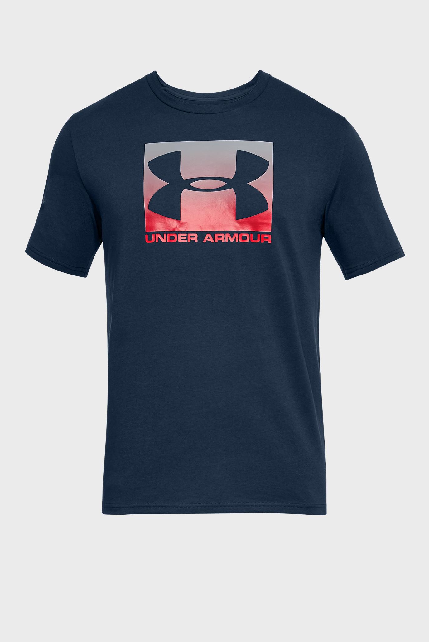חולצת אימון קצרה אנדר ארמור לגבר 1305660-408 Under Armour Men's Boxed Sportstyle SS