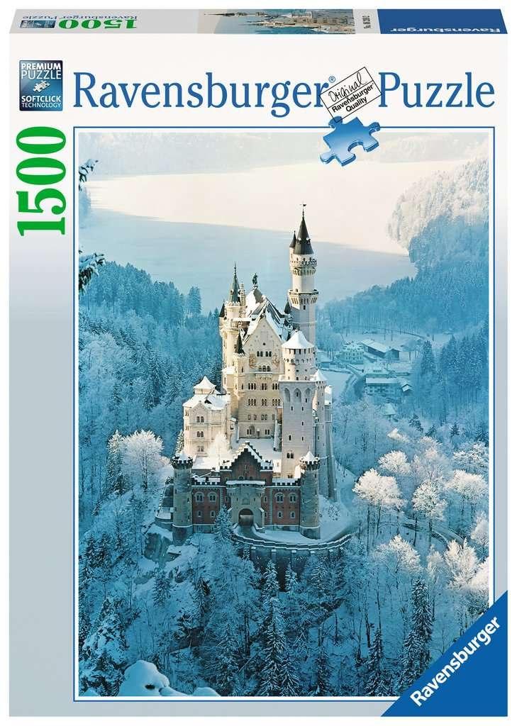 ארמון השלג פאזל 1500 חלקים