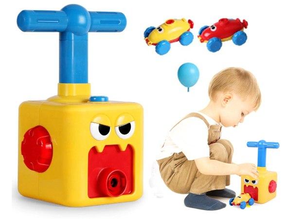 מכונית ניוטון - צעצוע מונע באמצעות בלון
