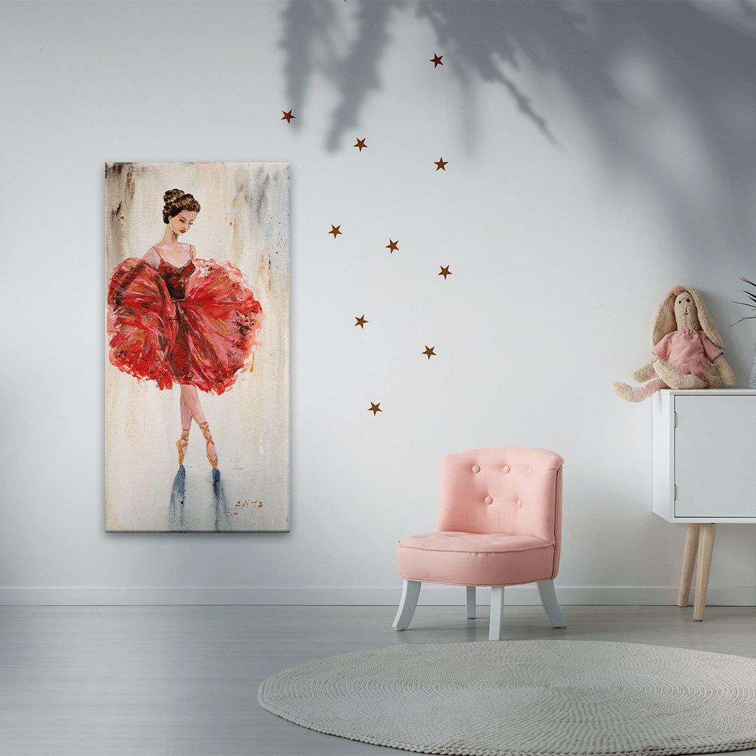ציורים על קנבס רקדנית בלט 1