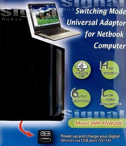 ספק כח משתנה למחשבים NETBOOK 45W