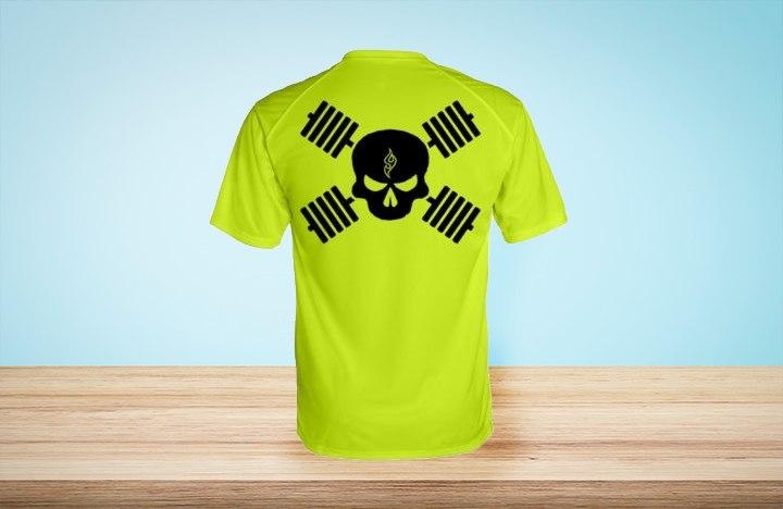 חולצת דרייפיט מודפסת